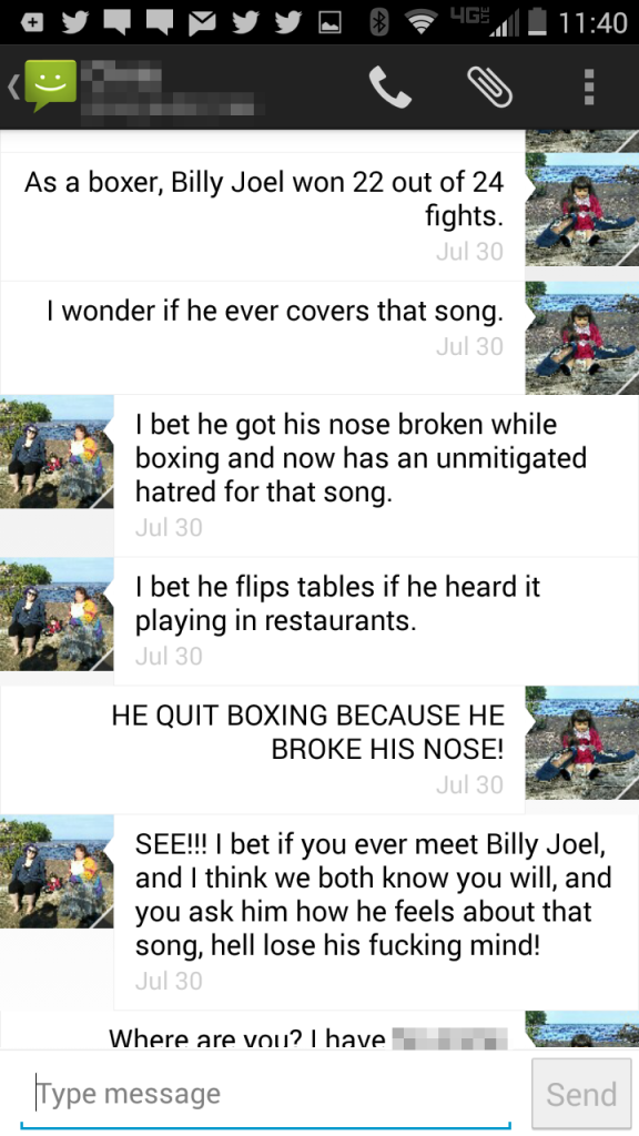 Billy Joel text 8
