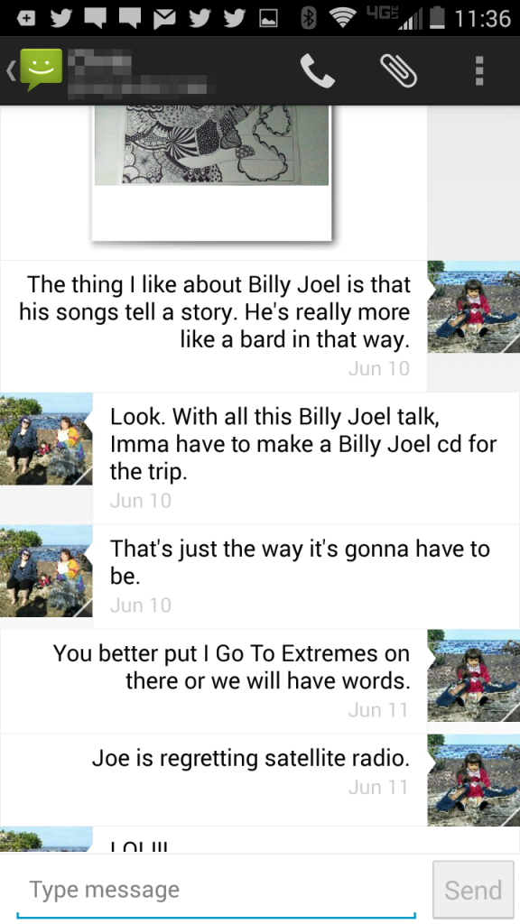 billy joel text 4