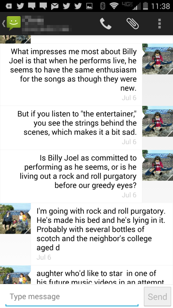 billy joel text 5