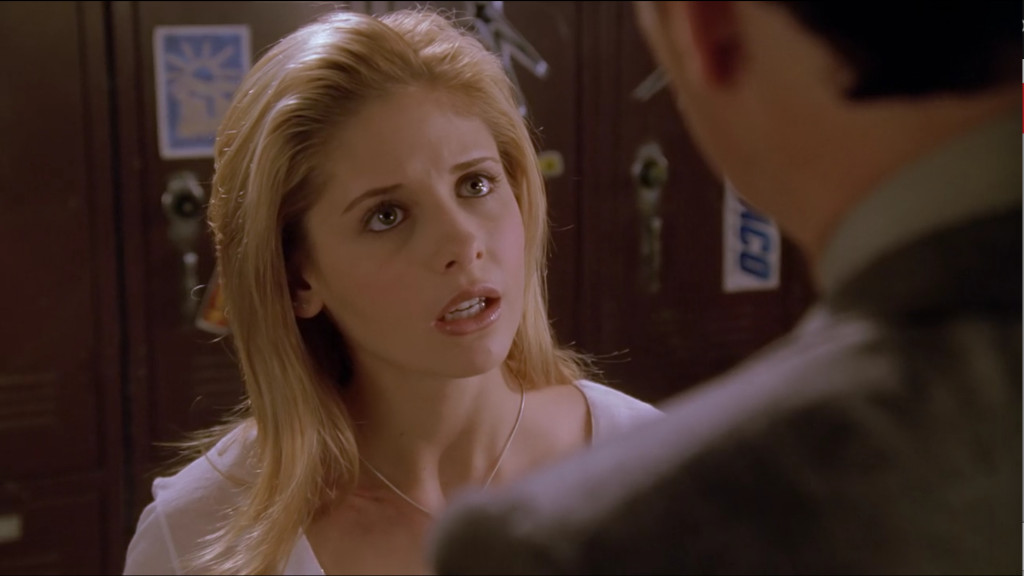 Buffy is super sad and betrayed.