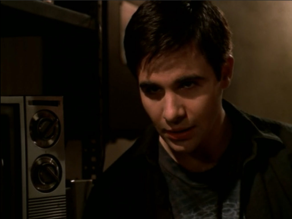 A guy who, in my estimation, looks just like Anthony Perkins.