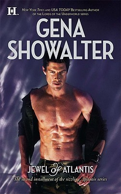 The new cover of Jewel of Atlantis isn't as good as the old one. This is just a bare-chested brunette dude staring dangerously and sweating into the camera, on a weird purple satiny background.